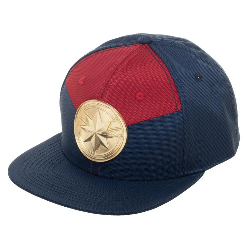 Captain Marvel Suit Up Snapback Cap