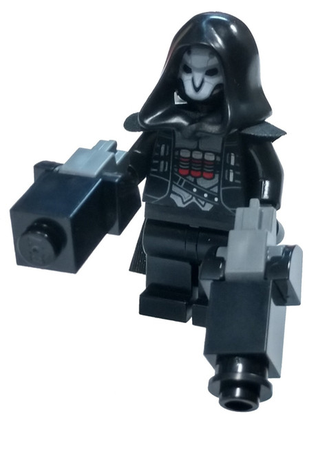 LEGO Overwatch Reaper Minifigure [with Twin Hellfire Shotguns Loose]
