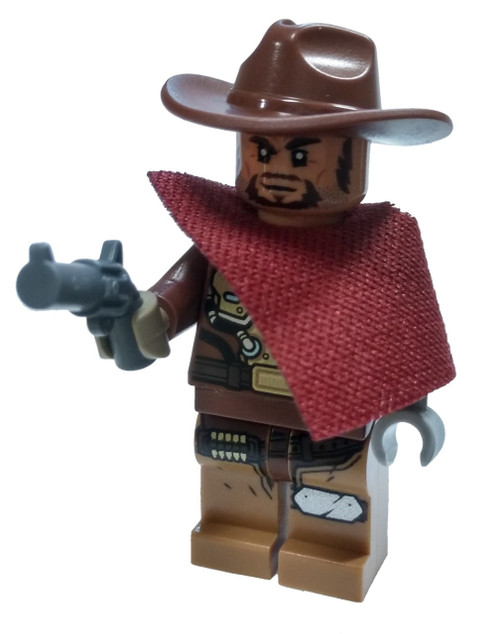 LEGO Overwatch McCree Minifigure [with Peacekeeper Revolver Loose]