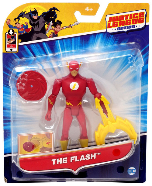 Justice League Action JLA Power Connects The Flash Action Figure