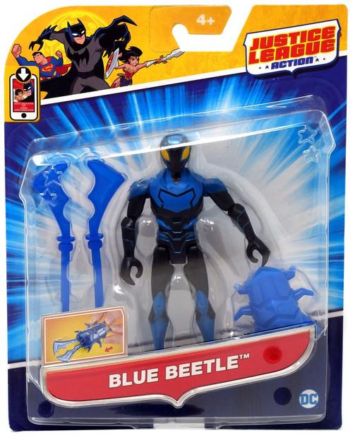 Justice League Action JLA Power Connects Blue Beetle Action Figure