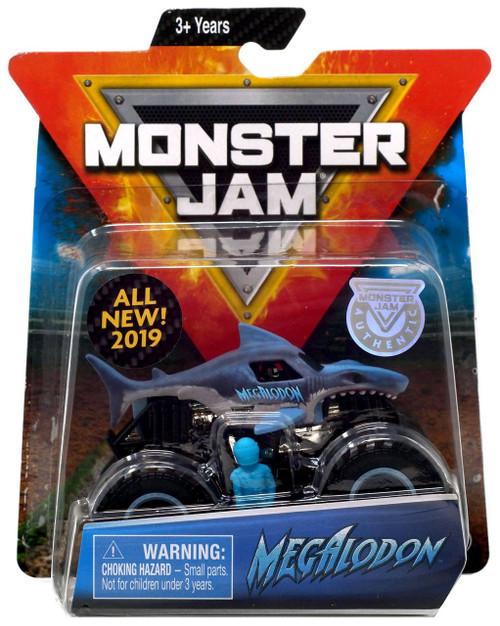 Monster Jam Megalodon Diecast Car [Blue]