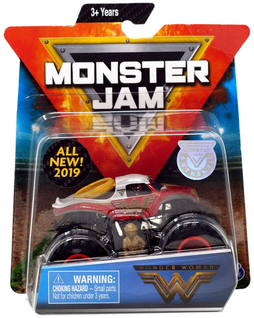 Monster Jam Wonder Woman Diecast Car