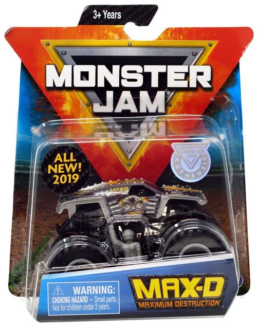 Monster Jam Max-D Diecast Car