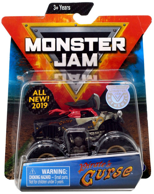 Monster Jam Pirate's Curse Diecast Car [Black]