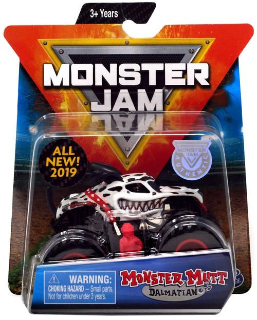 Monster Jam Monster Mutt Dalmatian Diecast Car