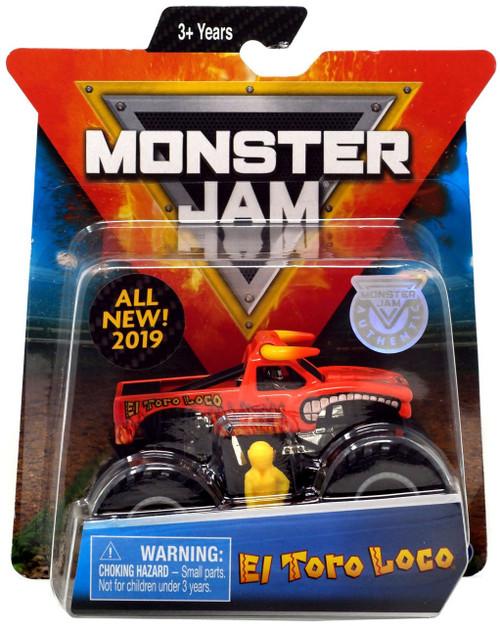 Monster Jam El Toro Loco Diecast Car [Version 1]
