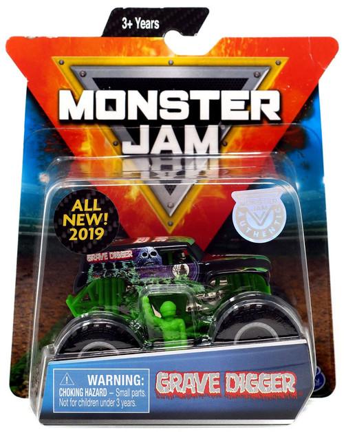 Monster Jam Grave Digger Diecast Car