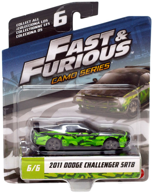 The Fast and the Furious Camo Series 2011 Dodge Challenger SRT8 Diecast Car #6/6