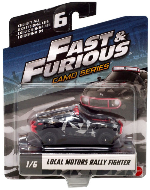 The Fast and the Furious Camo Series Local Motors Rally Fighter Diecast Car #1/6