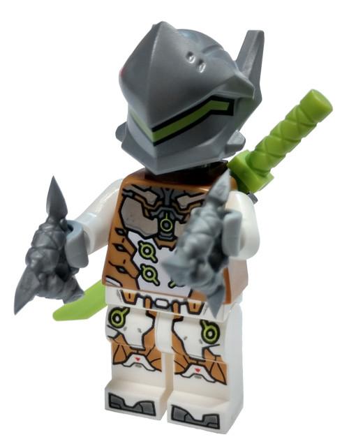 LEGO Overwatch Genji Minifigure [with Ryu-Ichimonji Sword Loose]