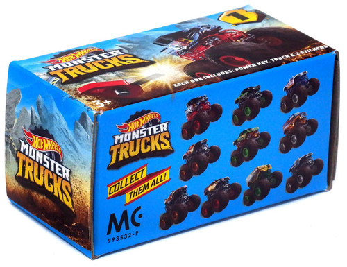 Hot Wheels Series 1 Monster Trucks Mystery Pack [Version 1]