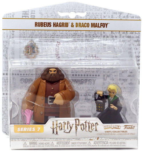 Funko Harry Potter Hero World Series 7 Rubeus Hagrid & Draco Malfoy Exclusive 4-Inch Vinyl Figure 5-Pack
