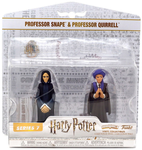 Funko Harry Potter Hero World Series 7 Professor Snape & Professor Quirrell Exclusive 4-Inch Vinyl Figure 5-Pack