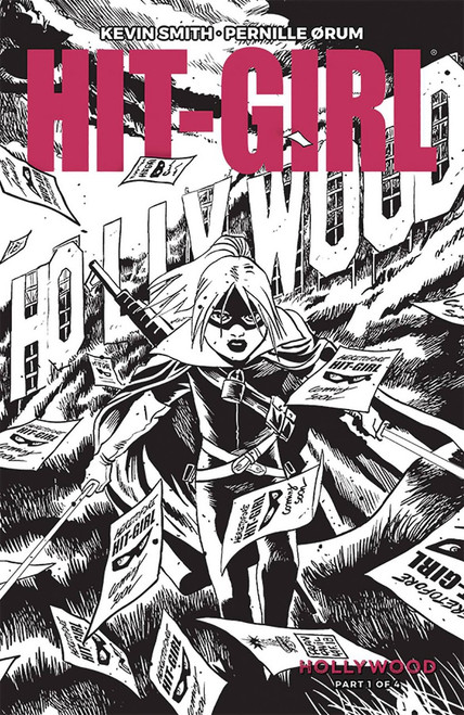 Image Comics Hit-Girl Season 2 #1 Comic Book [Black & White Cover B]