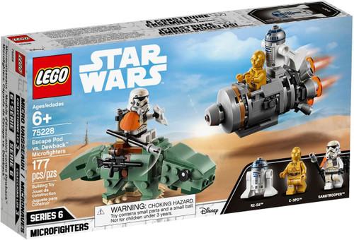 LEGO Star Wars Microfighters Series 6 Escape Pod vs. Dewback Set #75228