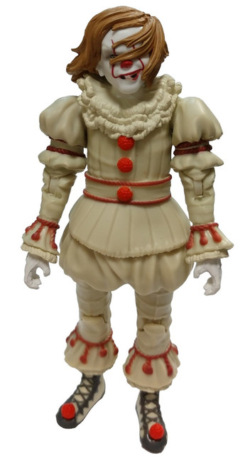 Funko IT Movie (2017) Pennywise with Wig Action Figure [Loose]