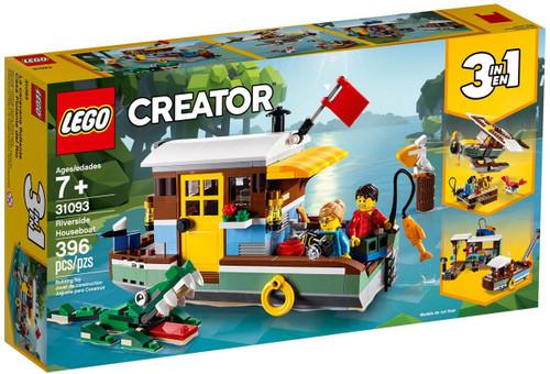 LEGO Creator Riverside Houseboat Set #31093