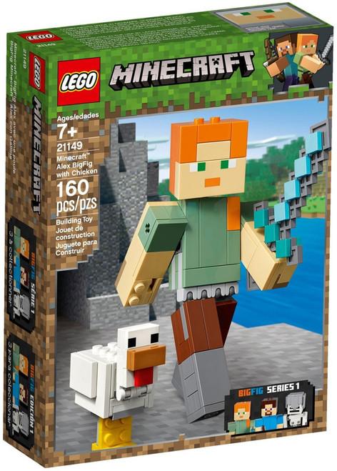 LEGO Minecraft Alex BigFig with Chicken Set #21149