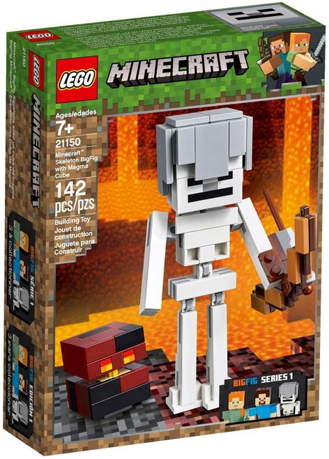 LEGO Minecraft Skeleton BigFig with Magma Cube Set #21150