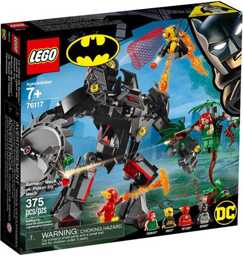 LEGO DC Batman Mech vs. Poison Ivy Mech Set #76117