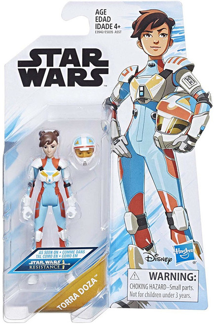 Star Wars Resistance Torra Doza Action Figure