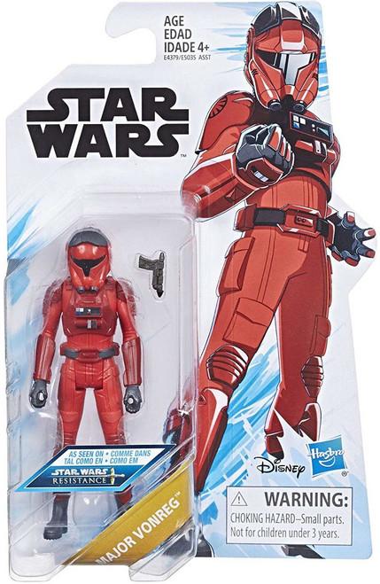 Star Wars Resistance Major Vonreg Action Figure