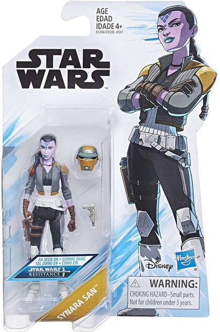 Star Wars Resistance Synara San Action Figure