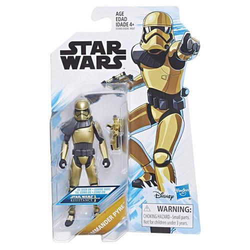 Star Wars Resistance Commander Pyre Action Figure