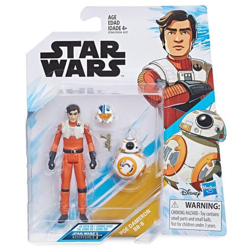 Star Wars Resistance Poe Dameron & BB-8 Action Figure 2-Pack