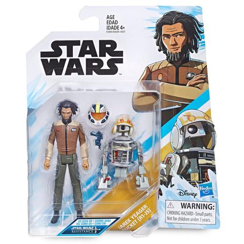 Star Wars Resistance Jarek Yeager & Bucket (R3-B7) Action Figure 2-Pack