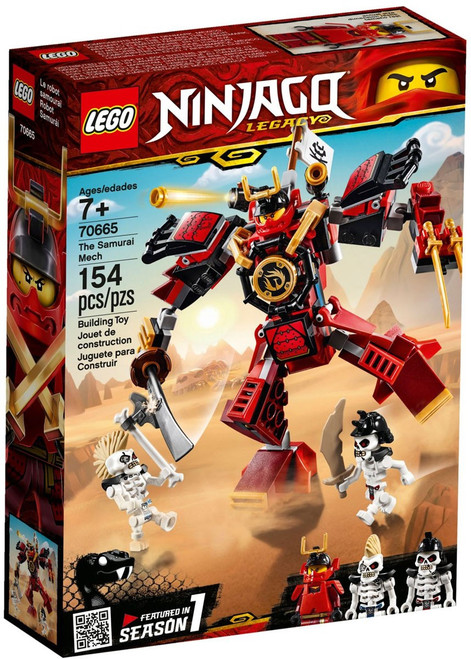 LEGO Ninjago Legacy The Samurai Mech Set #70665