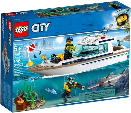 LEGO City Diving Yacht Set #60221