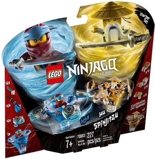 LEGO Ninjago Spinjitzu Nya & Wu Set #70663