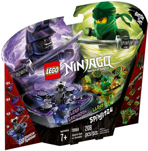 LEGO Ninjago Spinjitzu lloyd vs. Garmadon Set #70664