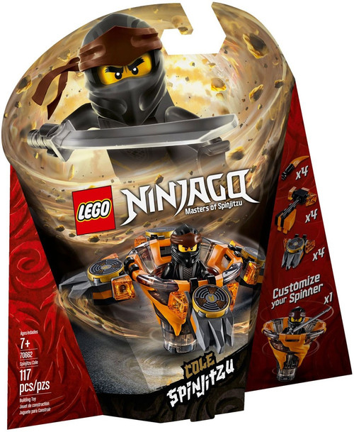 LEGO Ninjago Spinjitzu Cole Set #70662