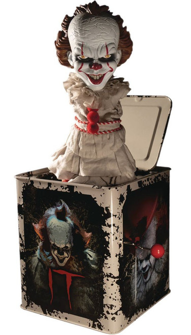 IT Movie (2017) Pennywise 14-Inch Burst A Box (Pre-Order ships October)