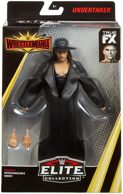 WWE Wrestling Elite Collection WrestleMania 35 Undertaker Action Figure