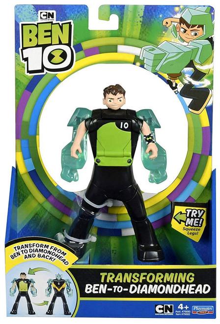 Ben 10 Transforming Ben-to-Diamondhead Action Figure