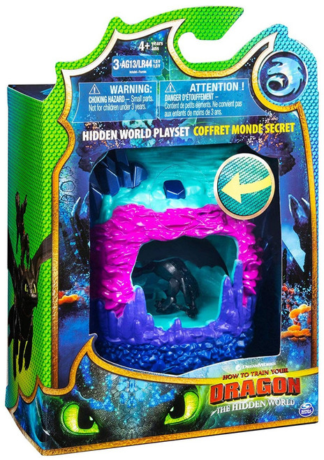 How to Train Your Dragon The Hidden World Toothless Dragon Lair Playset