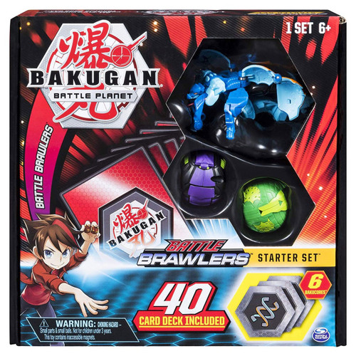 Bakugan Battle Planet Battle Brawlers Starter Set [Aquos Garganoid]