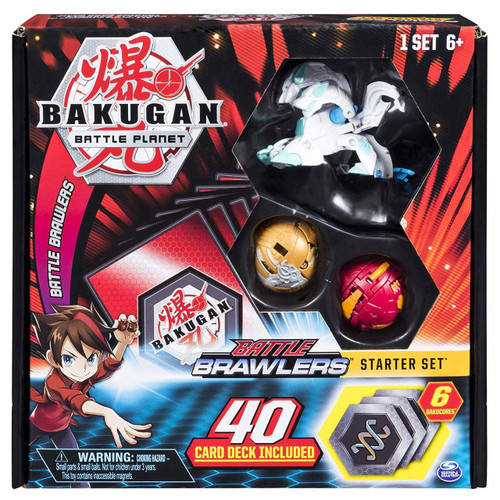 Bakugan Battle Planet Battle Brawlers Starter Set [Haos Howlkor]