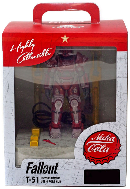 Fallout Power Armor T-51 and Cradle Exclusive USB Hub [Nuka Cola]
