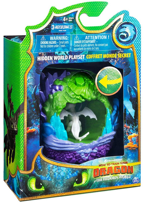 How to Train Your Dragon The Hidden World Lightfury Dragon Lair Playset