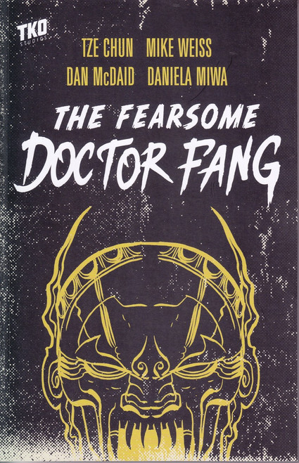 TKO Studios The Fearsome Dr. Fang Trade Paperback Comic Book