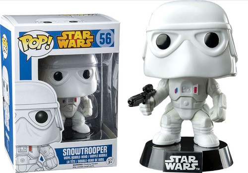 Funko POP! Star Wars Snowtrooper Exclusive Vinyl Bobble Head #56 [Damaged Package]