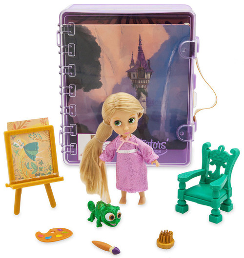 Disney Tangled Animators' Collection Rapunzel Exclusive 5-Inch Mini Doll Playset