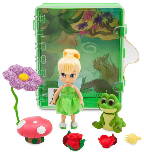 Disney Peter Pan Animators' Collection Tinker Bell Exclusive Mini Doll Playset [2019]
