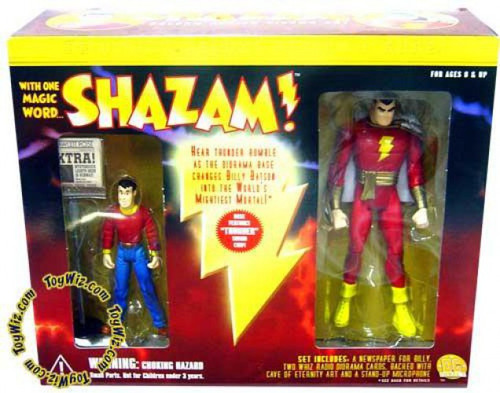 Shazam DC Super Heroes Captain Marvel & Billy Batson Action Figure 2-Pack