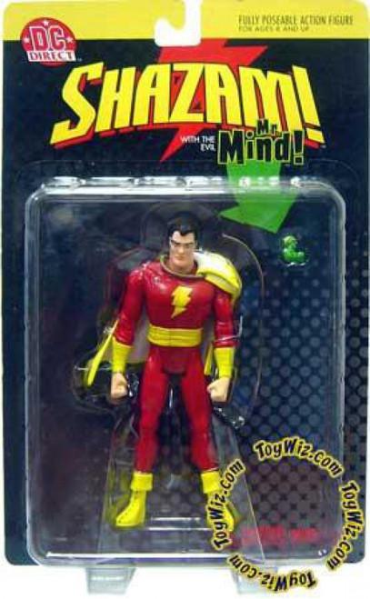 DC Shazam with THe Evil Mr. Mind Action Figure
